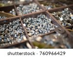 nuts bolts and screws | Shutterstock . vector #760966429
