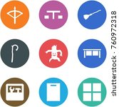 origami corner style icon set   ... | Shutterstock .eps vector #760972318