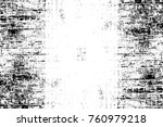grunge black and white pattern. ... | Shutterstock . vector #760979218