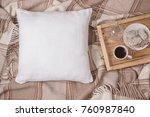 White Linen Pillow  Cushion...