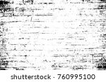 grunge black and white pattern. ... | Shutterstock . vector #760995100