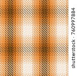 seamless check pattern. fabric... | Shutterstock .eps vector #760997884