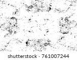 grunge black and white pattern. ... | Shutterstock . vector #761007244