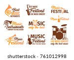 set of isolated badges for... | Shutterstock .eps vector #761012998