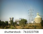 industry in india. evidence of...   Shutterstock . vector #761023708