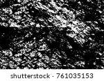 grunge black and white pattern. ...   Shutterstock . vector #761035153