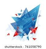 modern abstract cover  ... | Shutterstock .eps vector #761058790