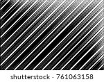 black and white tilted lines... | Shutterstock .eps vector #761063158