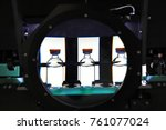 quality control vials for... | Shutterstock . vector #761077024