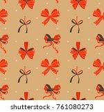 hand drawn vector abstract fun... | Shutterstock .eps vector #761080273