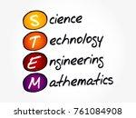 stem   science  technology ... | Shutterstock .eps vector #761084908