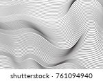 wave lines pattern abstract... | Shutterstock .eps vector #761094940