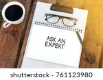 business concept   top view... | Shutterstock . vector #761123980