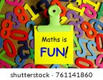 education concept for blog... | Shutterstock . vector #761141860