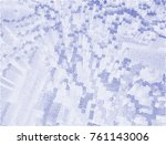 abstract vector background dot... | Shutterstock .eps vector #761143006