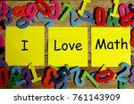 education concept for blog... | Shutterstock . vector #761143909