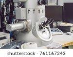 transmission electron... | Shutterstock . vector #761167243