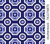 traditional ornate portuguese...   Shutterstock .eps vector #761176873