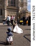 london  uk april 27  puppet... | Shutterstock . vector #76117828