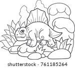 cartoon funny dimetrodon  funny