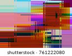 modern background with dead... | Shutterstock . vector #761222080