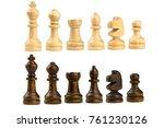 Wooden Chess King  Queen ...