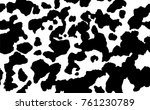 cow skin texture  black and... | Shutterstock .eps vector #761230789