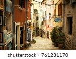rovinj  croatia   august 2015 ...   Shutterstock . vector #761231170