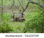 Abandoned Old Farm Truck