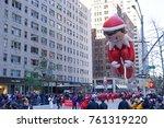 new york city   november 23... | Shutterstock . vector #761319220