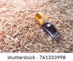 fragrant oil. scented oil.... | Shutterstock . vector #761333998