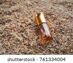 fragrant oil. scented oil.... | Shutterstock . vector #761334004