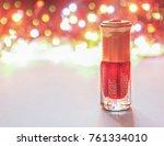 fragrant oil. scented oil.... | Shutterstock . vector #761334010