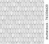 3d  white background  ovals ... | Shutterstock . vector #761336620