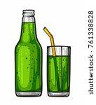 vector colorful illustration... | Shutterstock .eps vector #761338828
