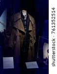 Small photo of MADRID, SPAIN - NOV 22, 2017: Alastor (Mad-Eye) Moody costume, Wizarding world of Harry Poter experience in Madrid, Spain