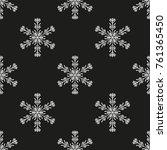 snowflake winter design season... | Shutterstock .eps vector #761365450