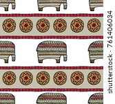 vintage graphic vector indian... | Shutterstock .eps vector #761406034