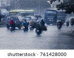 ho  chi minh city  vietnam  ... | Shutterstock . vector #761428000