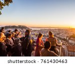 lisbon  portugal   november 19  ... | Shutterstock . vector #761430463