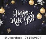 vector illustration of new year ... | Shutterstock .eps vector #761469874