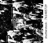 vector black and white grunge... | Shutterstock .eps vector #761485729
