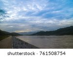 view of the mae khong river in... | Shutterstock . vector #761508754