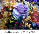 winter floral bouquet