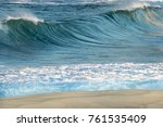 Wave Off Coogee Beach Sydney - Fine Art prints