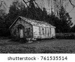 Dilapidated Wooden Schoolhouse