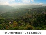 tea plantation at doi mae... | Shutterstock . vector #761538808