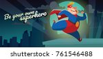 """vector night city card """"be your ...   Shutterstock .eps vector #761546488"""