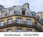 paris  france  on october 27 ... | Shutterstock . vector #761567890