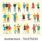 vector illustration in a flat... | Shutterstock .eps vector #761570233